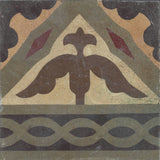 Klaver Braid Encaustic Cement Tile (one tile)