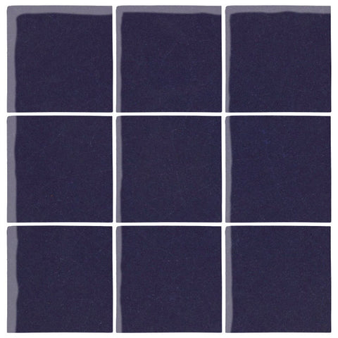 Malibu Field Midnight Blue C Ceramic Tile Avente Tile - Cobalt blue ceramic tile 4x4