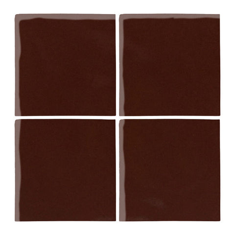 "Malibu Field 6""x6"" Dark Roast #476C Ceramic Tile"