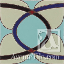 Geometrical Ellipse A Ceramic Tile