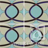 Geometrical Ellipse A Ceramic Tile Grouping