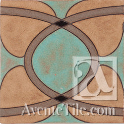 Geometrical Ellipse B Ceramic Tile
