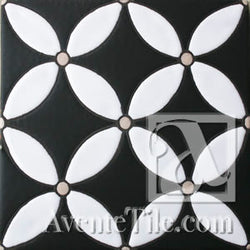Geometrical Circles D Ceramic Tile