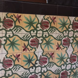 Marquette Flower and Palm Pattern from Historical Installation