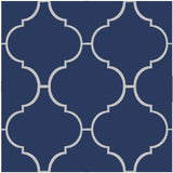 "Mission 10"" Colonial Encaustic Cement Tile - Azul Weatherly"