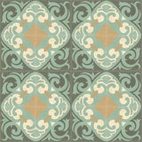 Mission Espanola 8'x8 Encaustic Cement Tile Rug