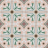 Mission Giverny Cement Tile Rug
