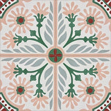 Mission Giverny Cement Tile Quarter Design