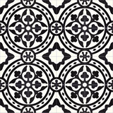 Mission Le Rond C Encaustic Cement Tile Rug or Pattern Repeat