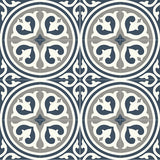 "Mission Palazzo North Coast Colorway Encaustic Cement Tile 8""x8"" Rug (4 tiles x 4 tiles)"