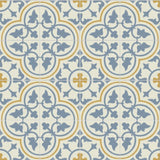 "Mission Roseton Savoy Colorway Encaustic Cement Tile 8""x8"" Rug"
