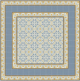 "Mission Roseton Savoy Colorway Encaustic Cement Tile 8""x8"""