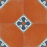 Mission Spanish Colonial #1 Cement Tile Quarter Design