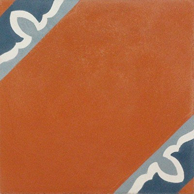 "Mission Spanish Colonial 1 Cement Tile 8""x8"""