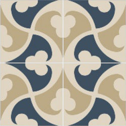 Mission Trebol Sonata Encaustic Cement Tiles