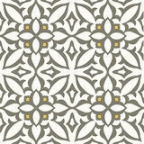 "Mission Zebra Gray Cement Tile 8""x8"" Rug"