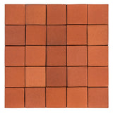 Rustic Terracotta Unglazed Mission Red Glaze Chip