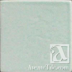 "Pool Tile Moss Beach 6"" x 6"" Handmade Porcelain Tile"