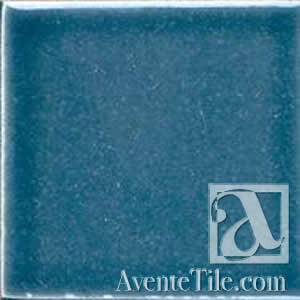 "Pool Tile Barbados 6"" x 6"" Handmade Porcelain Tile"