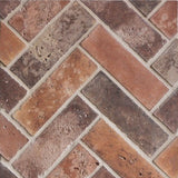 "Rustic Cement Tile 2""x8""x1/2"" - Normandy Cream"