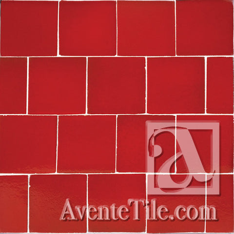 Rustic Terracotta Apple Valley Red tile