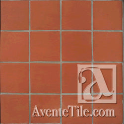 Unglazed Mission Red Rustic Terracotta