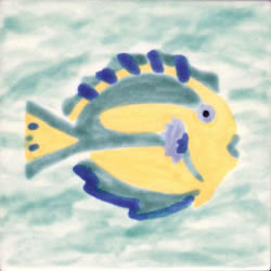 Whimsical Sea Life Fish 3