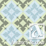 Mission Santander - B Encaustic Cement Tile rug