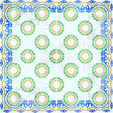 Traditional Sevilla Cement Tile Rug