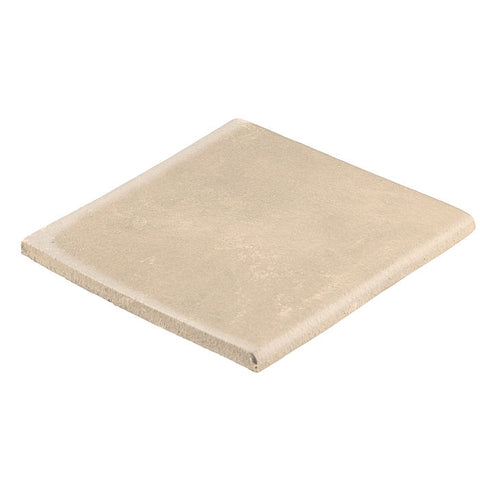 "Malibu Field Surface Bullnose 4"" x 4"" Almond"