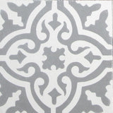 "Traditional Neiba B Encaustic Cement Tile 8""x8"""