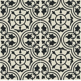 Traditional Bayahibe C Cement Tile Tile Rug