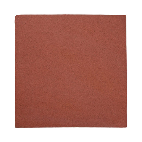 "Unglazed Mission Red 12""x12"" Rustic Terracotta"