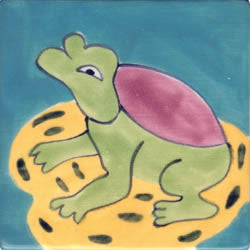 Whimsical Animal Frog Tile