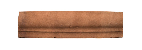 "Rustic Santa Barbara 2"" x 8"" Chair Rail Moulding - Cotto Dark"