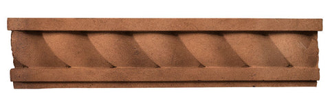 "Rustic 16"" Rope Wall Moulding - Cotto Dark"