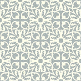 "Traditional Manzanillo Glory Encaustic Cement Tile 8"" x 8* Rug (16 tiles)"