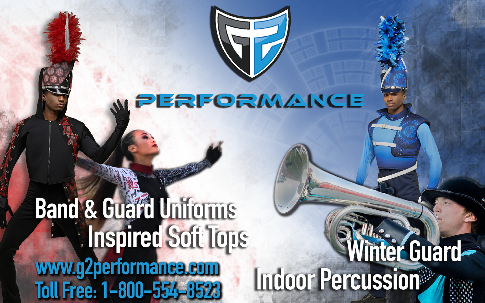 G2 Performance, Band and Guard Uniforms for the Marching Athlete