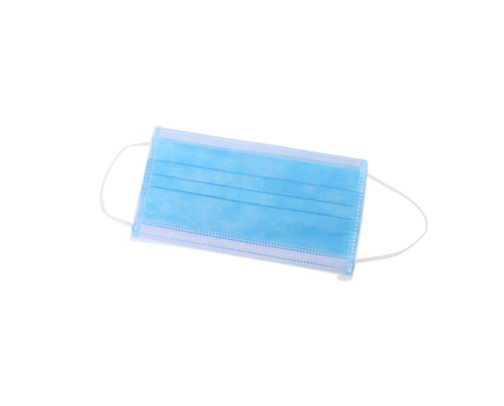 Disposable 3-Ply Face Mask (Sold in Packs of 50)