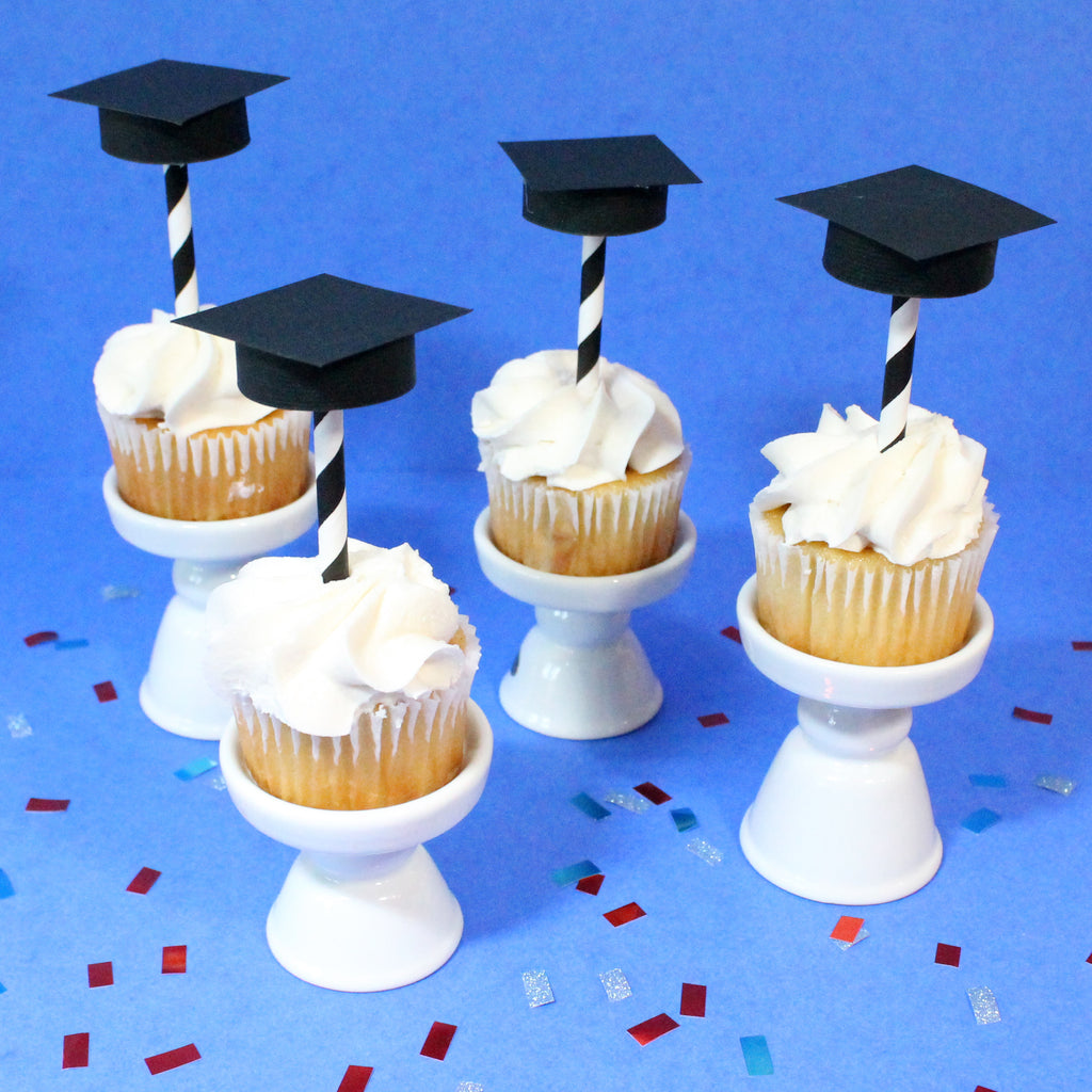 DIY Graduation Party Cupcake Toppers
