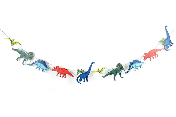 Dinosaur Party - Garland