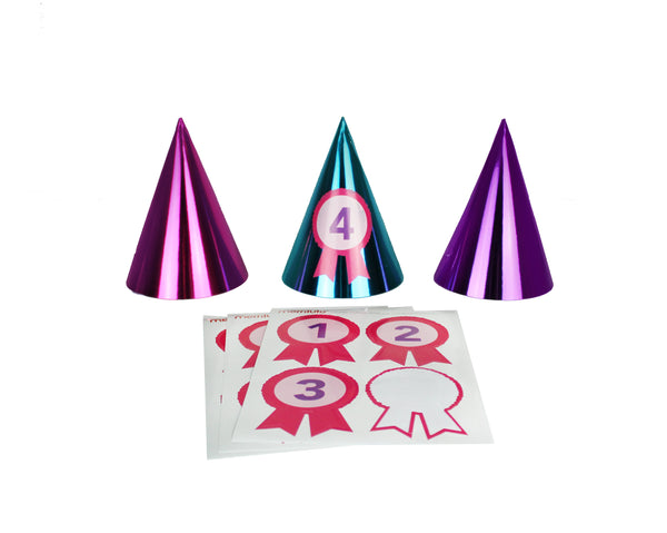 Gymnastics - Party Hats, 12 ct