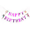gymnastics party - happy birthday banner