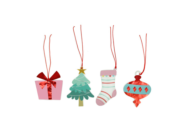 Holly Jolly Christmas - Gift Tags, 12 ct