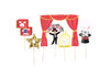Magic Cupcake Toppers - Magician Cake Toppers, 11 ct