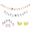 multiracial princess birthday party decorations