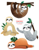 sloth stickers