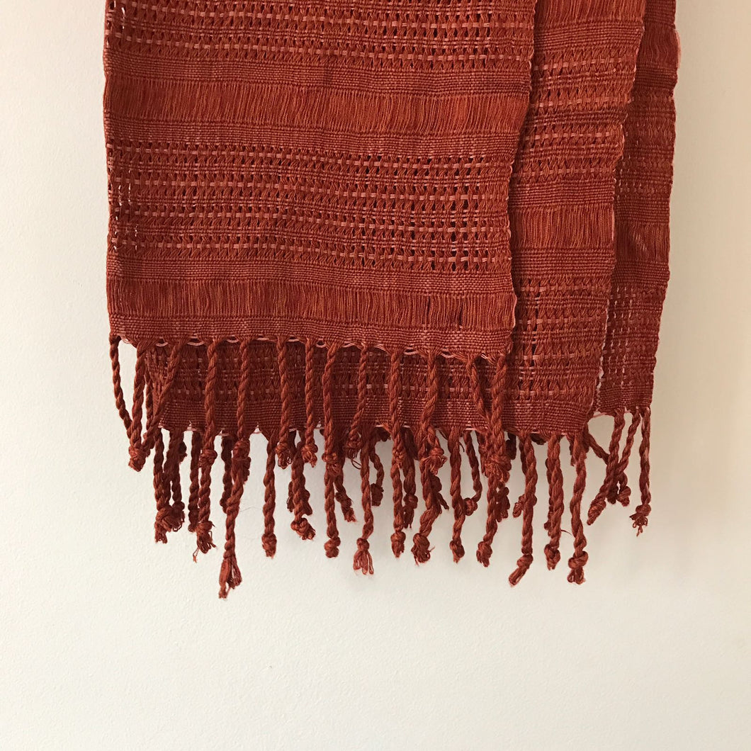 Chalingas Scarf in Tierra