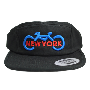 3D Bike New York Five Panel Cap