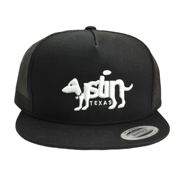 3D Austin Dog Trucker Hat